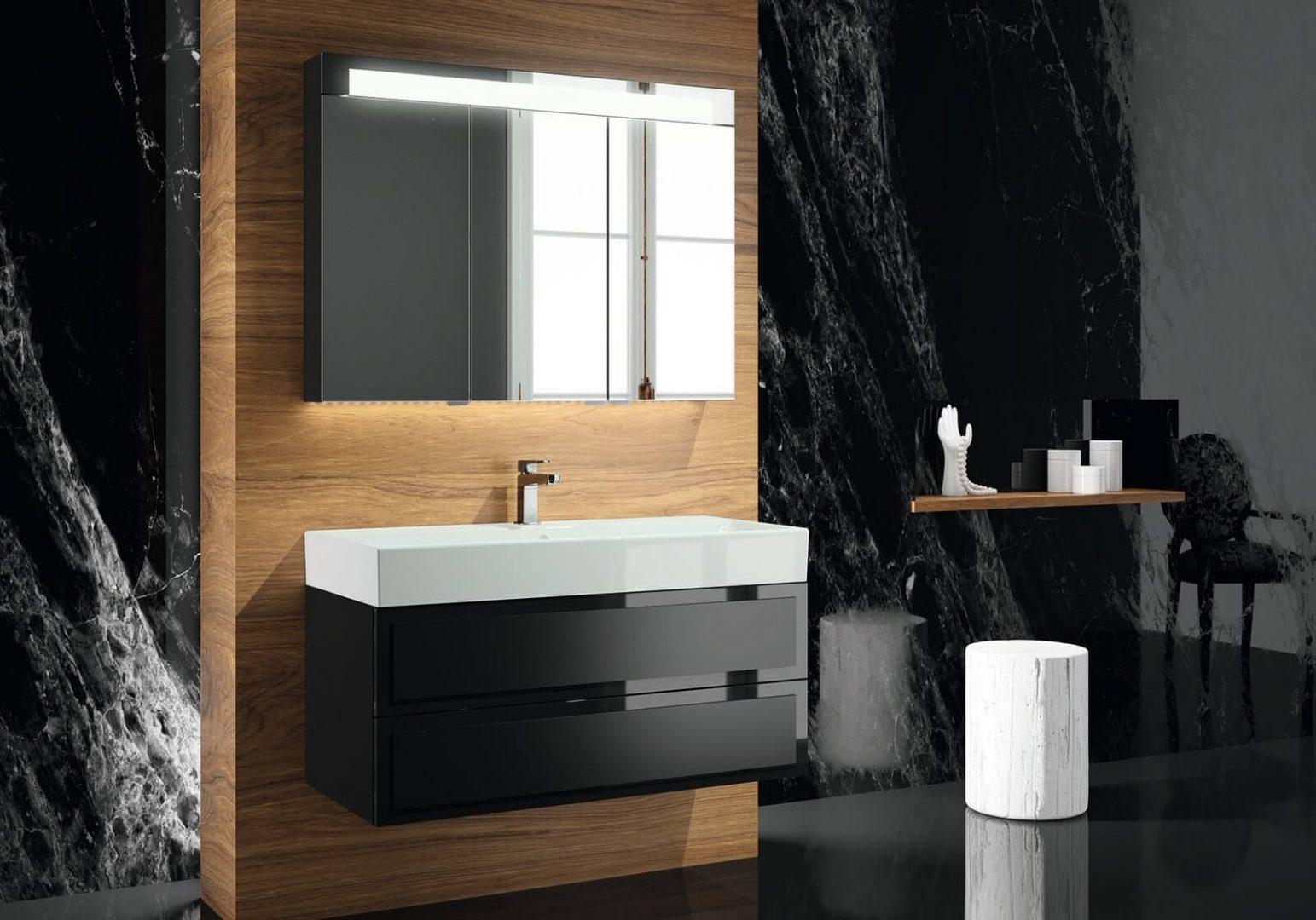 Meble łazienkowe z serii ELYSEE od Decotec