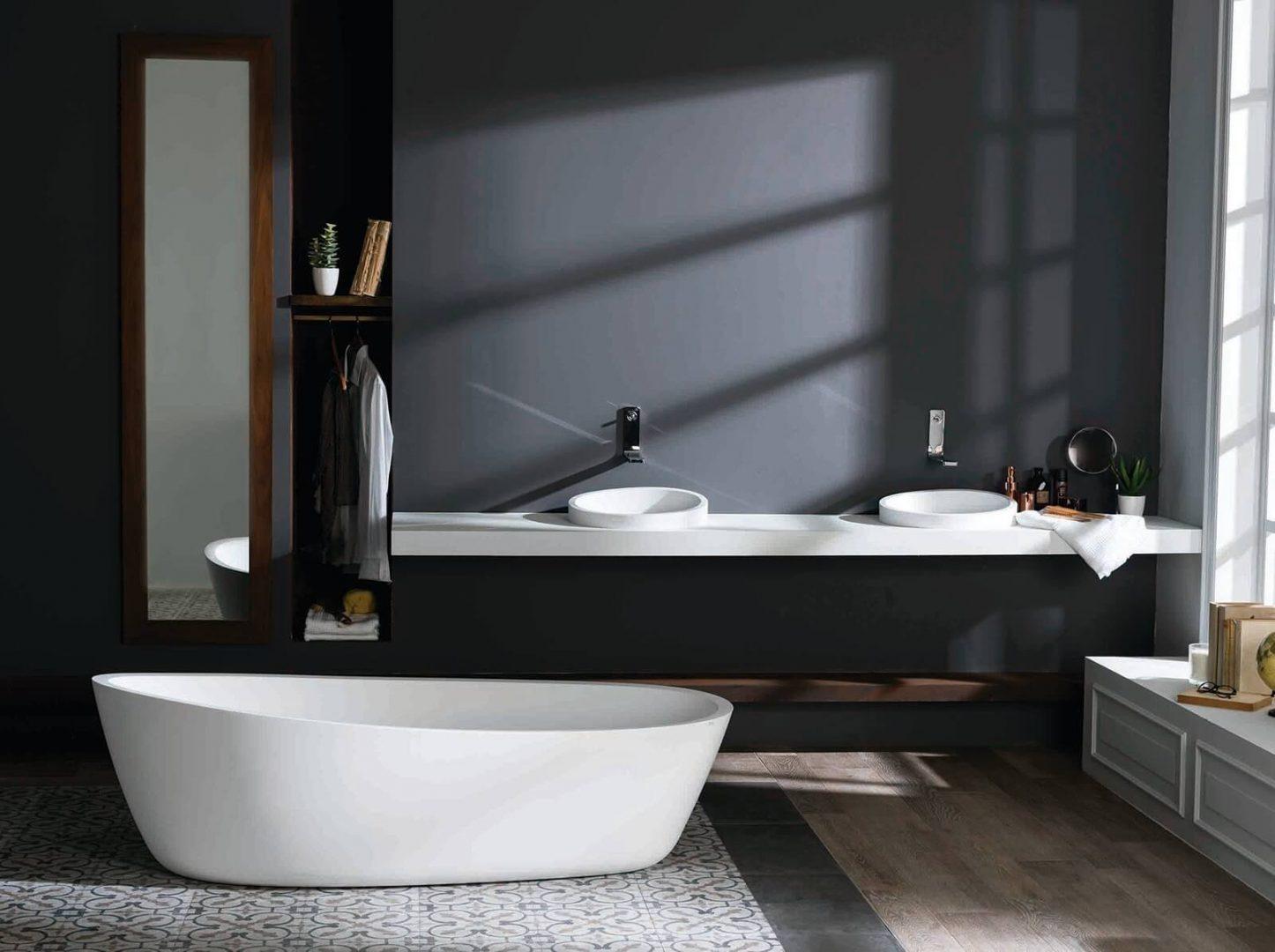Ceramika łazienkowa od marki KRION