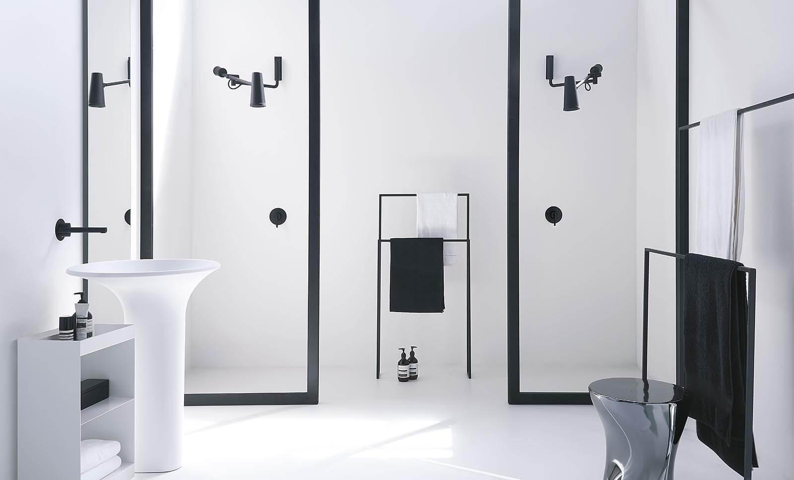 Akcesoria łazienkowe z serii Closer od marki Zucchetti